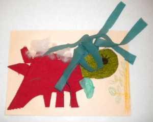 Atelier gratuit copii tehnica mixta colaj