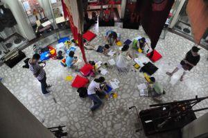 ateliere copii Caravana Muzeelor - Foisorul de Foc
